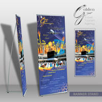 Travel agency Banner stand by Jadknight