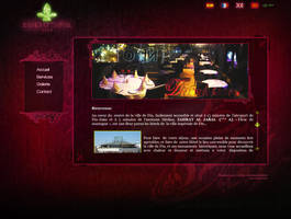 Hotel website - Home page by Jadknight