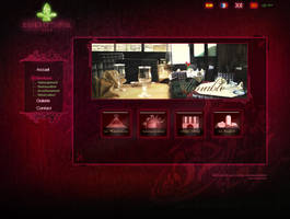 Hotel website - Services page by Jadknight