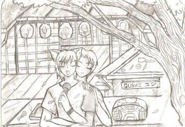 Akichi and Hirata...lalala by Akumi-San