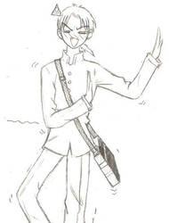 Werid expression by Akumi-San