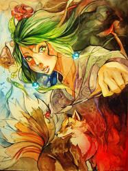 Painting my life by Razor-Sensei