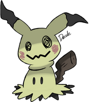 Pokemon Sun and Moon - Mimikkyu by darside34