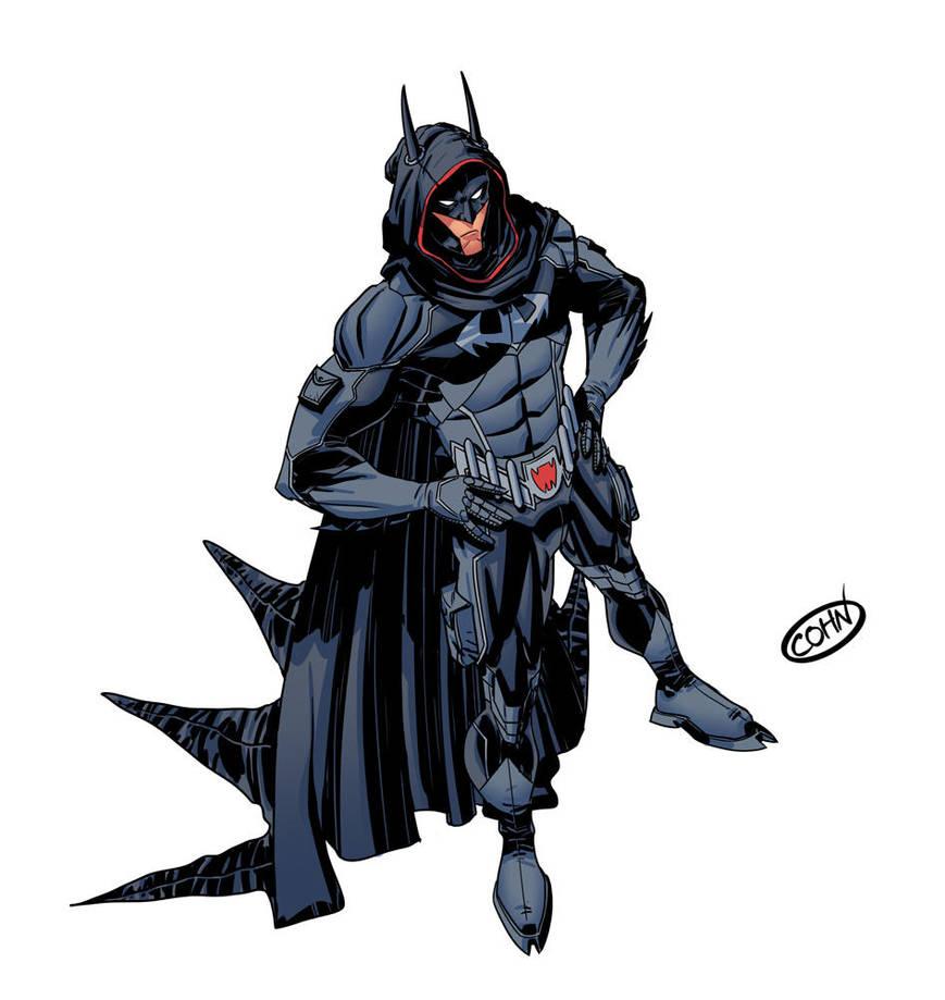 Damian Wayne Batman 2036 by ScottCohn