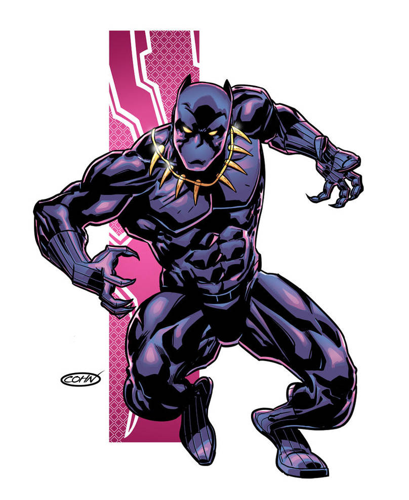 Black Panther by ScottCohn