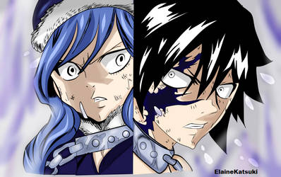 Gray y Juvia- Fairy Tail by ElaineKatsuki