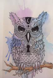Owl by kirinasan