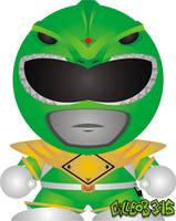 Mighty Morphin' - Green by Gillbob316