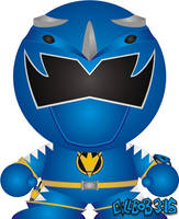 Dino Thunder - Blue by Gillbob316