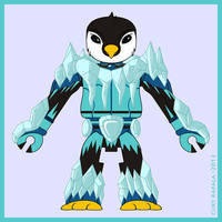 Battle Beasts Minimates - Chilly by Gillbob316