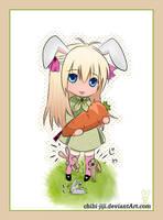 Cruel Bunny Girl by chibi-jiji