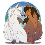 [AT for RuffleTruffle]- Love wolfs :. by Chocoecaramell