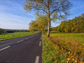 Route d'automne 1 by Markotxe