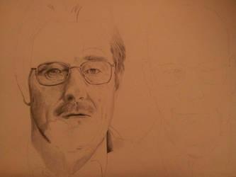 Walter White Heisenberg WIP by HenningBlom