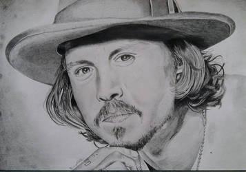 Johnny Depp by HenningBlom