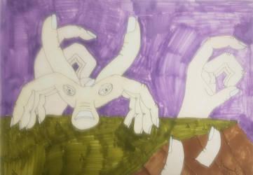 Hand Creature by jweinrub