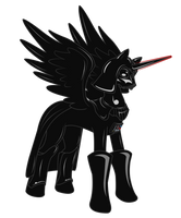 Pony Vader by Sephiroth-Strife