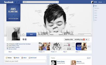 facebook timeline cover :) by damolee