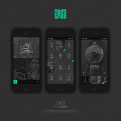 STRIDE - iOS Redesign Concept by damolee