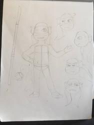 Swap!TMNT: Dee Dee Reference by SilverKunoichi1212