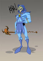 Skeletor by tanglong