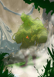 Swamp Thing by tanglong