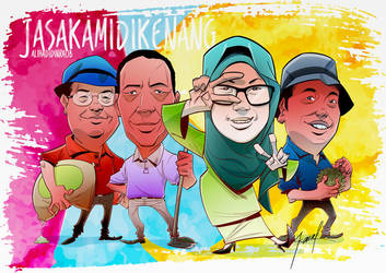Caricature Commission by tanglong