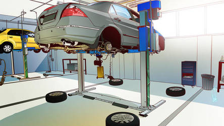Garage by tanglong