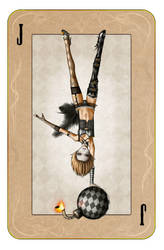 Alacrity Harlequin Card by mrpranny