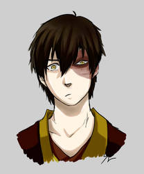 Zuko Sketch by Ashirogi28