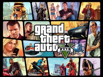 GTA V Wallpaper 2 by juniorbunny