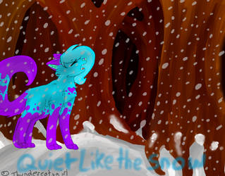 Quite like the snow by Thundercatzgirl
