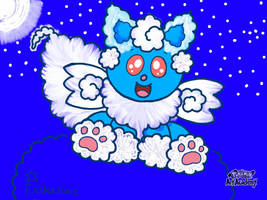 Dreameon. Dream Pokemon. (Original Fakemon) by Eeveeboss