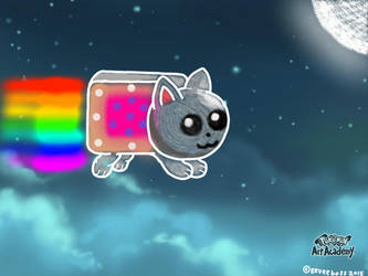 Nyan Cat. by Eeveeboss