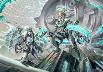 Twins. Manga Project: Source. by xinillus