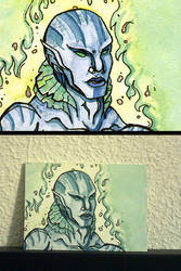 Art Cards - Abe Sapien by remthemighty