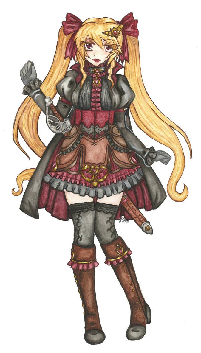 [PA] Noctryn Princess Mina by KnightLycoris