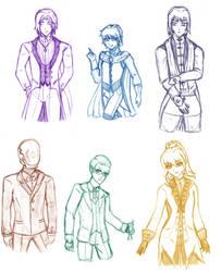 [PA] Some Fancy Folks by KnightLycoris