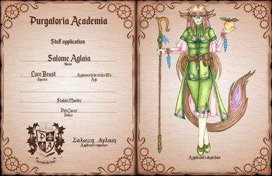 [PA] Stable Master Salome by KnightLycoris