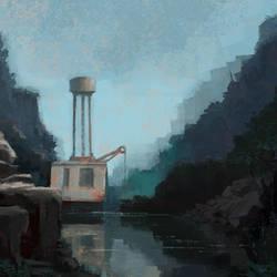 Landscape Sketch by tomcech