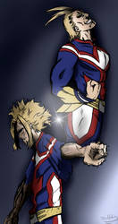 Everything will be All Might - semi spoilers by JunNoAce