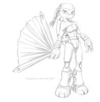 TMNT Venus 2012 (new design) by propimol