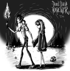 Don't starve  Hyvan and Defiria by propimol