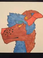 emo dog by prickpi11s