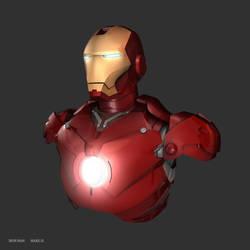 Iron Man Mark III (Fan Art) by Nutcracker3012