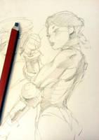 Cammy Sketch by mldoxy