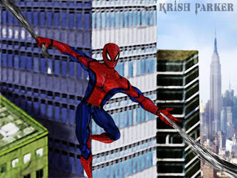Spiderman Homecoming by krishparker