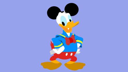 Donald duck by krishparker