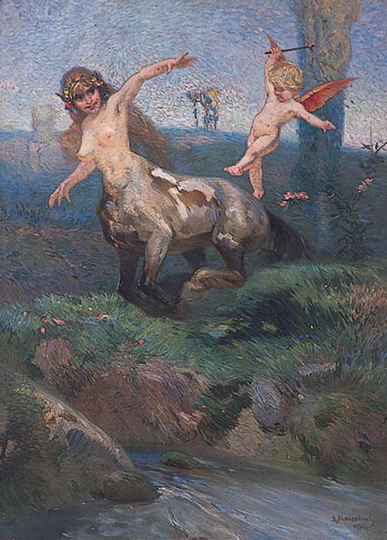 036 Kentaur 1924 by liminalbean