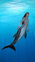 Mermaid by liminalbean